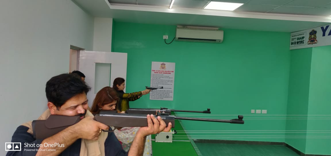 Precihole VX-100 Air Rifle in Action