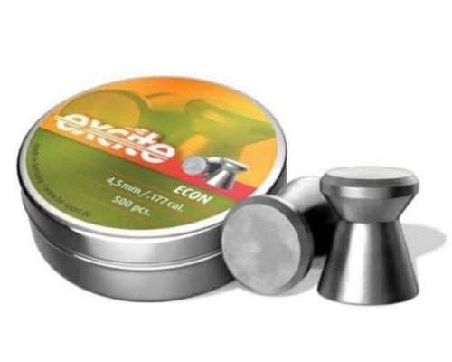 H&N Excite Econ (0.177) Cal-7.48 Grains-500 Pellets | Wadcutter Head